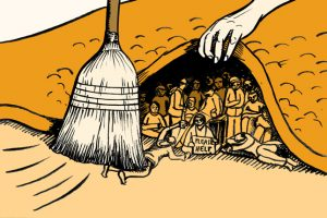sweeping it under the rug
