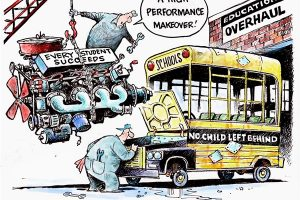 no child left behind cartoon